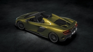 Only 500 units of the new 675 LT Spider will be sold