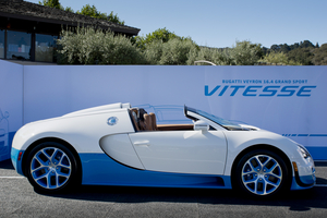 The Grand Sport Vitesse mixes high power and a removable top