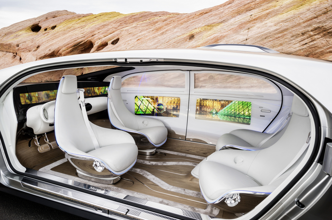 Mercedes-Benz F015 Luxury in Motion