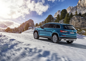 The Skoda Kodiaq Scout will be available with four engines
