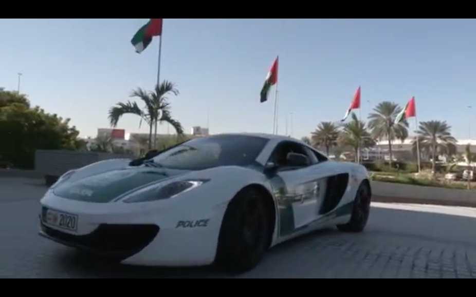 The 12C is the latest addition to the Dubai Police's fleet