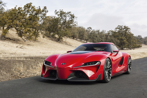 The FT-1 will inspire the new Toyota Supra
