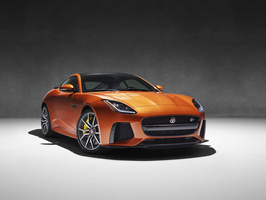 After being introduced to journalists and to the public in Geneva the F-Type will hit the stands in the summer