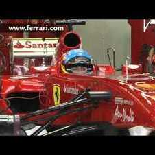 F1 - Ferrari 150 Italia - Last tests before 2011 Melbourne GP